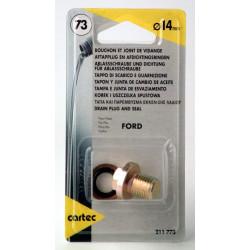 Cartec 211773 Bouchon et Joints 14 mm