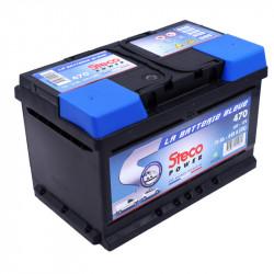 STE470 -/+ 12V 70Ah 640A
