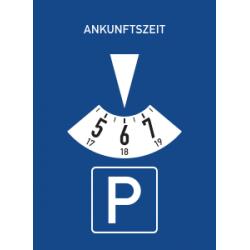 P Pour parking